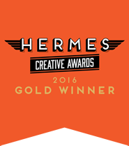 Hermes Creative Awards 2016 Gold Winner